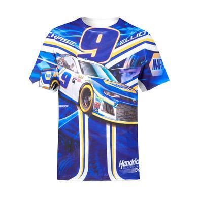 Hendrick Motorsports Chase Elliott #9 Prism Sublimated Driver T-shirt