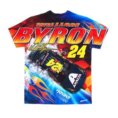 Hendrick Motorsports William Byron #24 Prism Sublimated Driver T-shirt