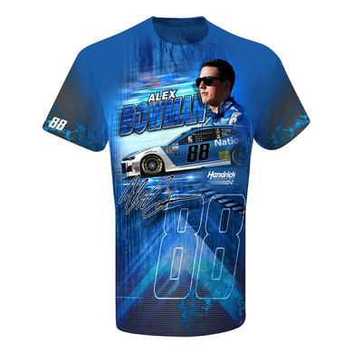 Hendrick Motorsports Alex Bowman #88 Nationwide Total Print T-shirt