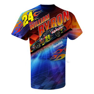 Hendrick Motorsports William Byron #24 Axalta Total Print T-shirt