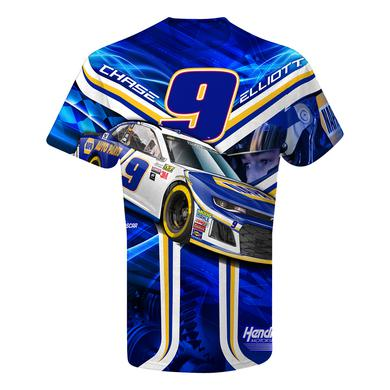 Hendrick Motorsports Chase Elliott #9 NAPA Total Print T-shirt
