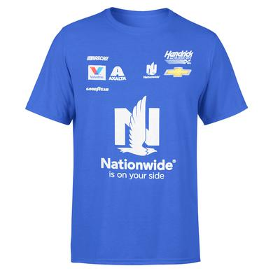 Hendrick Motorsports Alex Bowman 2018 NASCAR #88 Nationwide Uniform T-shirt