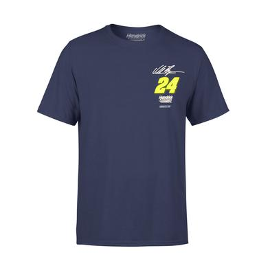 Hendrick Motorsports William Byron #24 2018 NASCAR Schedule T-shirt