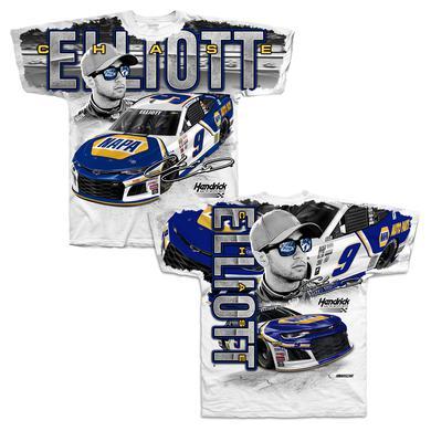 Hendrick Motorsports Chase Elliott #9 2018 NAPA Total Print T-shirt