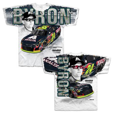 Hendrick Motorsports William Byron #24 2018 Total Print T-shirt