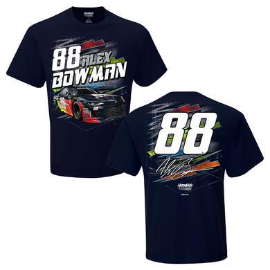 Hendrick Motorsports Alex Bowman #AX 2018 Axalta Torque 2-Spot T-shirt