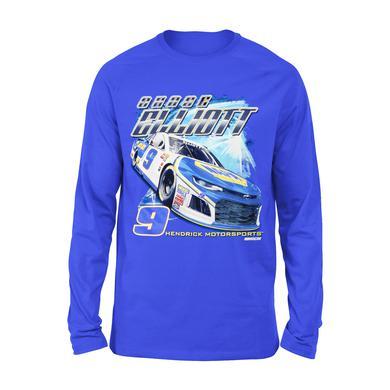 Hendrick Motorsports Chase Elliott #9 2018 NAPA L/S 2-Spot T-shirt