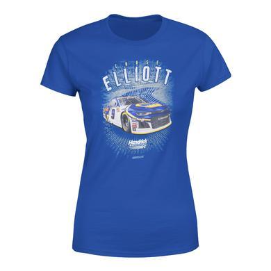 Hendrick Motorsports Chase Elliott #9 2018 NAPA Ladies Acceleration 1-Spot T-shirt
