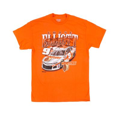 Hendrick Motorsports Chase Elliott 2018 #9 Hooters Racer 1-spot T-shirt