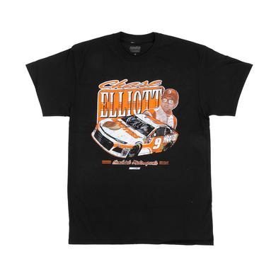 Hendrick Motorsports Chase Elliott 2018 #9 Hooters Vintage 1-spot T-shirt