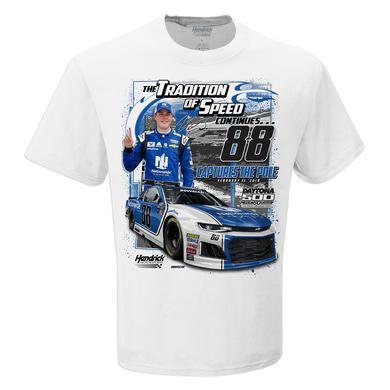 Hendrick Motorsports Alex Bowman 2018 #88 Daytona Pole Winner Torque T-shirt