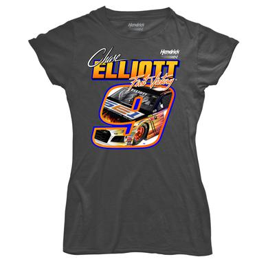 Hendrick Motorsports Chase Elliott First Cup Series Win Ladies T-shirt