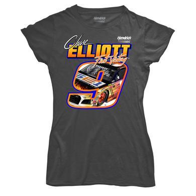Hendrick Motorsports Chase Elliott First Cup Series Win Ladies T-shirt