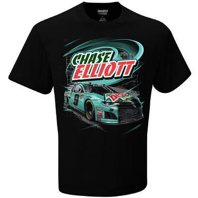 Hendrick Motorsports Chase Elliott #9 2018 NASCAR Mtn Dew Baja Blast T-shirt