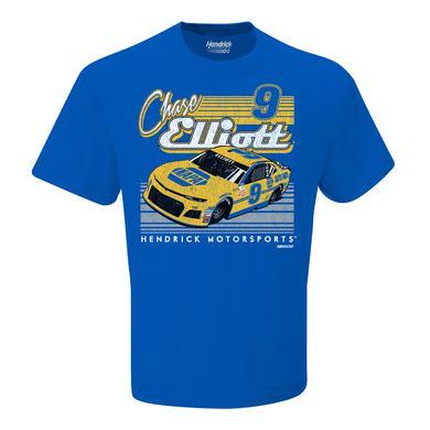 Hendrick Motorsports Chase Elliott #9 2018 NASCAR NAPA Retro Car T-shirt