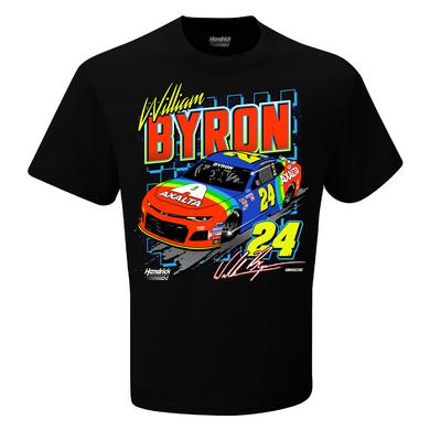Hendrick Motorsports William Byron #24 2018 NASCAR Retro Car T-shirt