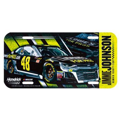 Hendrick Motorsports Jimmie Johnson #48 2018 NASCAR License Plate