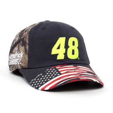 Hendrick Motorsports Jimmie Johnson 2018 #48 TrueTimber Patriotic Hat