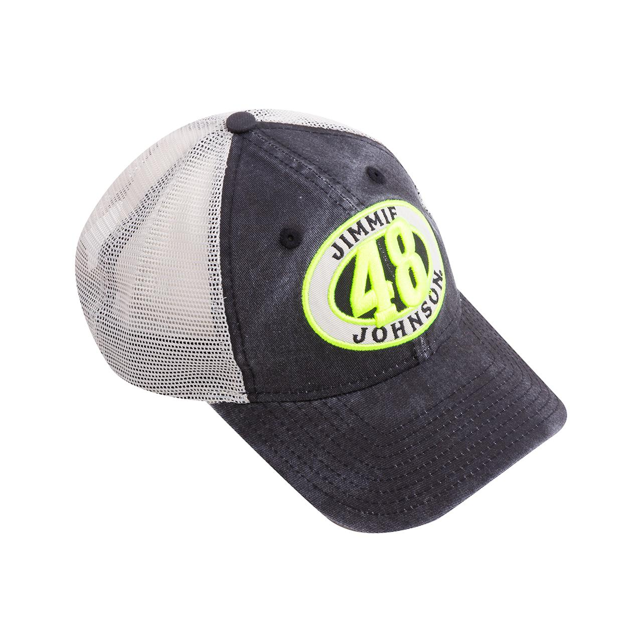 cdeaa3255bc85 Jimmie Johnson  48 2018 NASCAR New Era 920 Patched Pride Lowes Hat