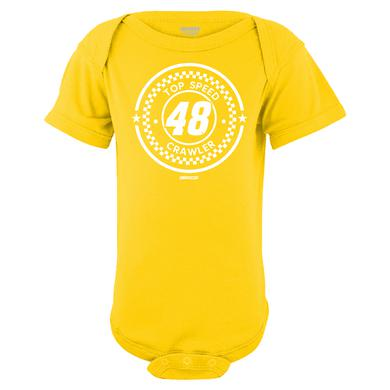 Hendrick Motorsports Jimmie Johnson #48 2018 Infant Top Speed Onesie T-shirt