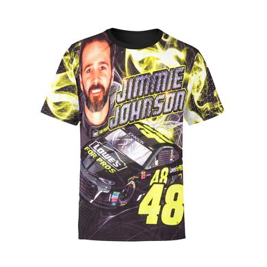 Hendrick Motorsports Jimmie Johnson #48 Youth Sublimated Driver T-shirt