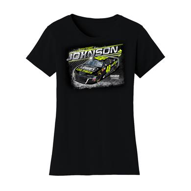 Hendrick Motorsports Jimmie Johnson #48 Lowes Ladies T-shirt