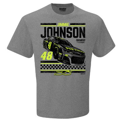 Hendrick Motorsports Jimmie Johnson #48 2018 Lowe's Retro 1-Spot T-shirt