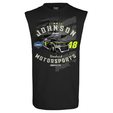 Hendrick Motorsports Jimmie Johnson #48 2018 Lowe's Muscle 1-Spot T-shirt