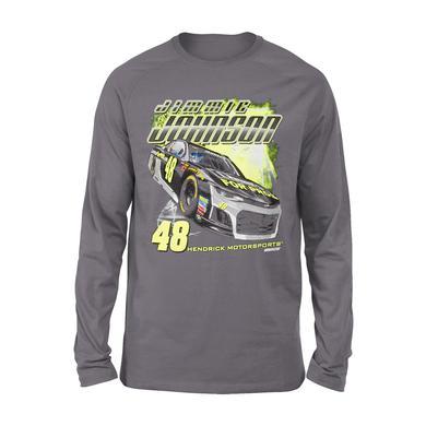 Hendrick Motorsports Jimmie Johnson #48 2018 Lowe's L/S 2-Spot T-shirt