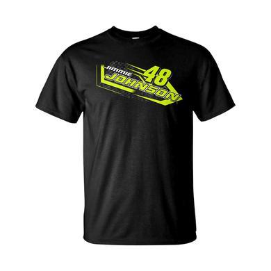 Hendrick Motorsports Jimmie Johnson #48 2018 NASCAR Fluorescent T-shirt
