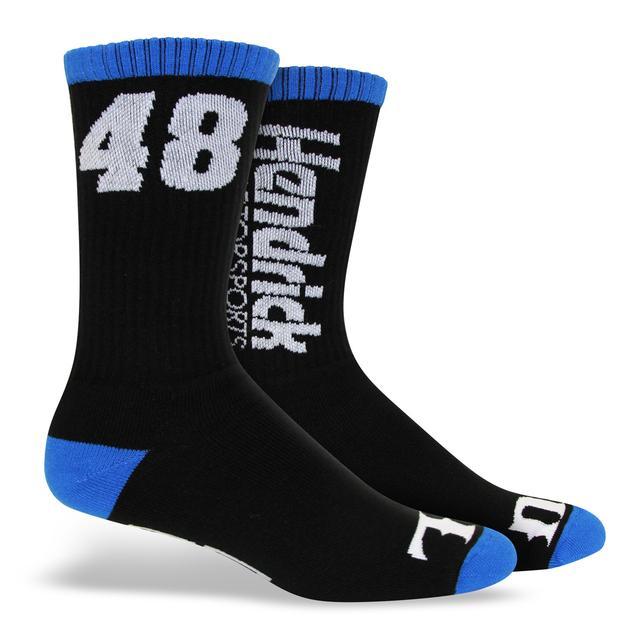 "Jimmie Johnson Hendrick Motorsports Exclusive - #48 ""Wide Open"" Socks"