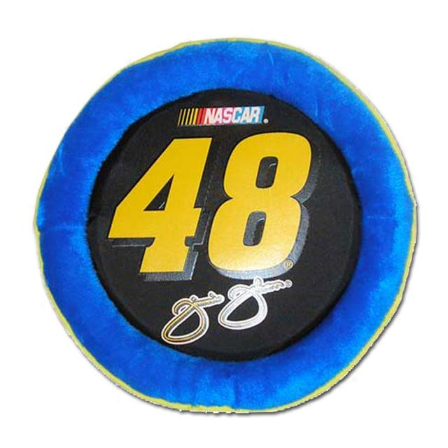 "Jimmie Johnson #48 Plush Flying 10"" Disc for Dog"