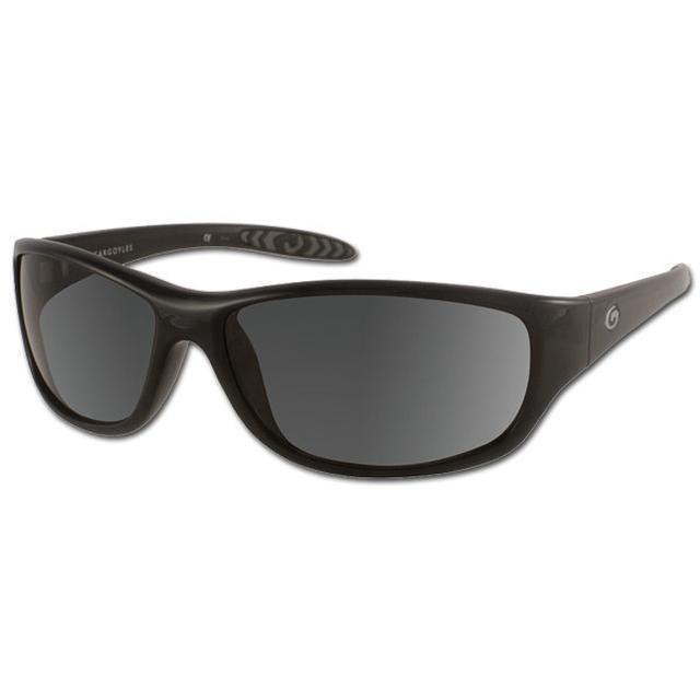 Jimmie Johnson Gargoyles Fabricator Black/Smoke Sunglasses