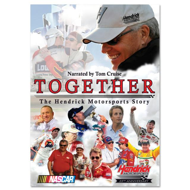 Jimmie Johnson Together: The Hendrick Motorsports Story DVD