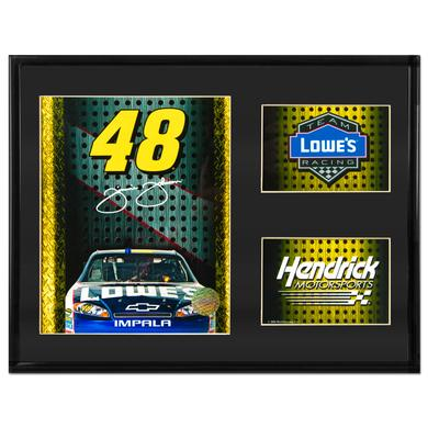 Jimmie Johnson #48 Framed Photo Collage