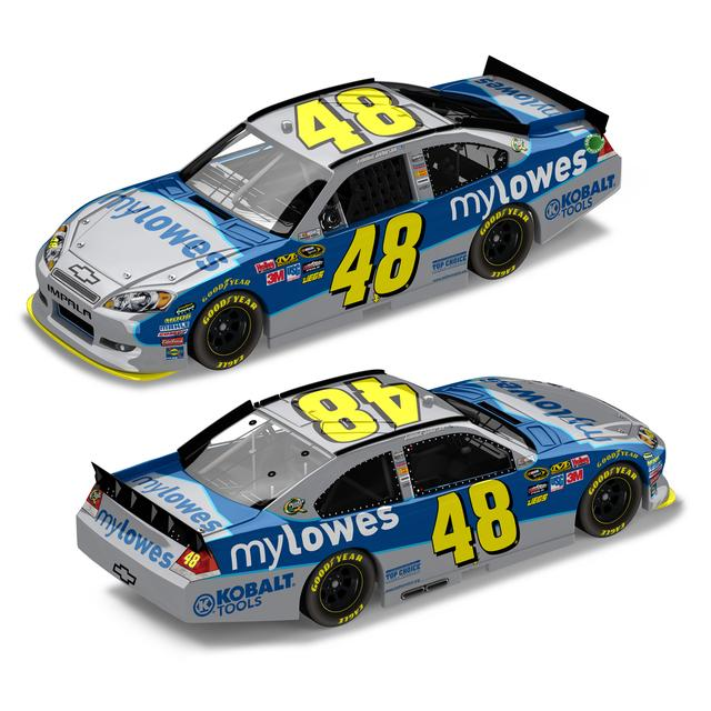 Jimmie Johnson #48 myLowe's 1:24 Diecast