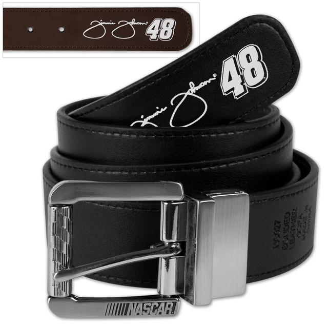 Jimmie Johnson #48 Signature Reversible Belt