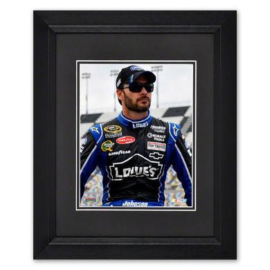 "Jimmie Johnson #48 Framed 8""x 10"" Driver Photo"