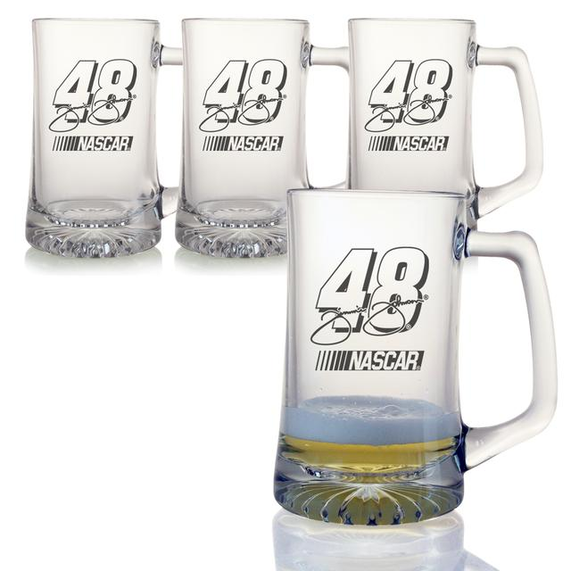 Jimmie Johnson 25oz Sports Mug - Set of 4