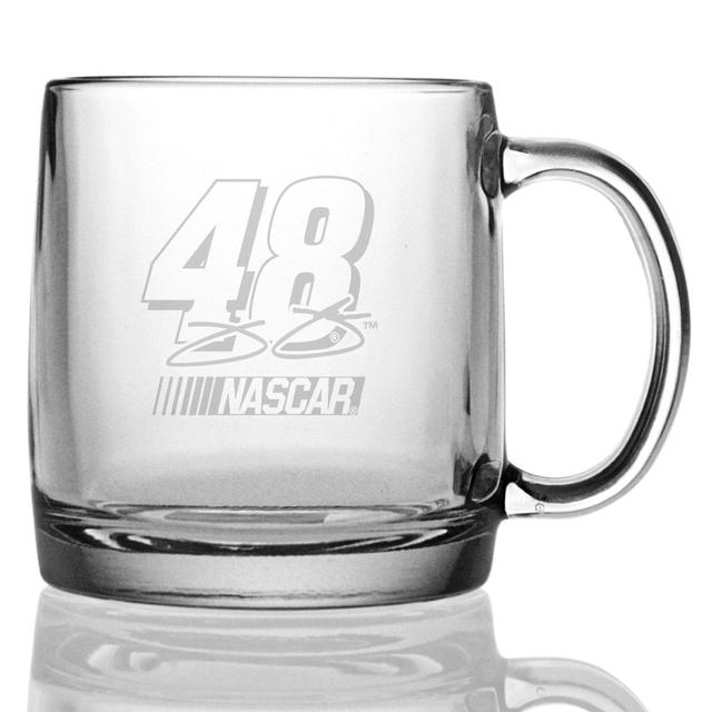 Jimmie Johnson 13oz Etched Coffee Mug