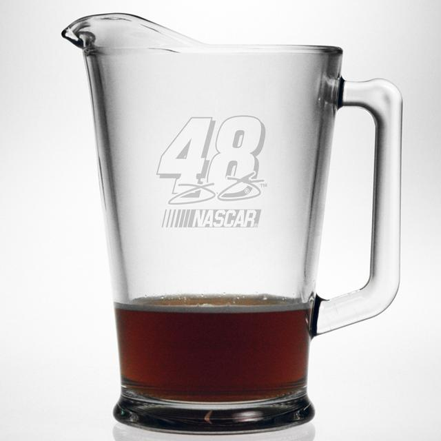Jimmie Johnson 60oz Etched Pitcher