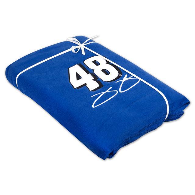Jimmie Johnson #48 Fleece Throw Blanket