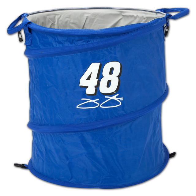 Jimmie Johnson Collapsible Trashcan Cooler