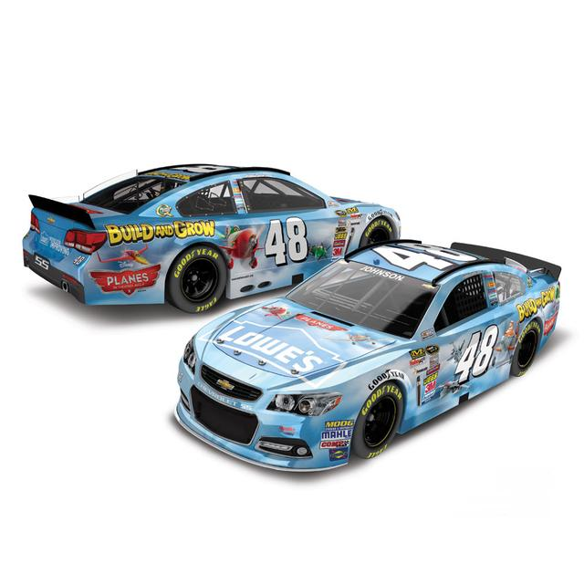 Jimmie Johnson #48 Planes 2 1:24 Scale Diecast HOTO