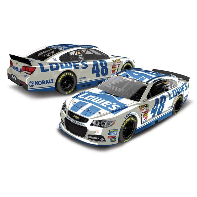 Jimmie Johnson #48 2014 Lowe's 1:24 Scale Diecast COLOR CHROME
