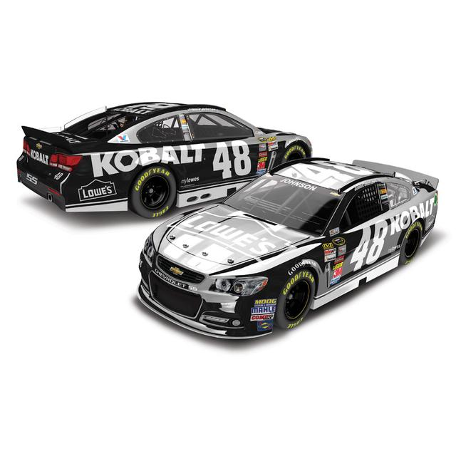 Jimmie Johnson #48 2014 Lowe's / Kobalt Tools 1:24 Scale Diecast COLOR CHROME