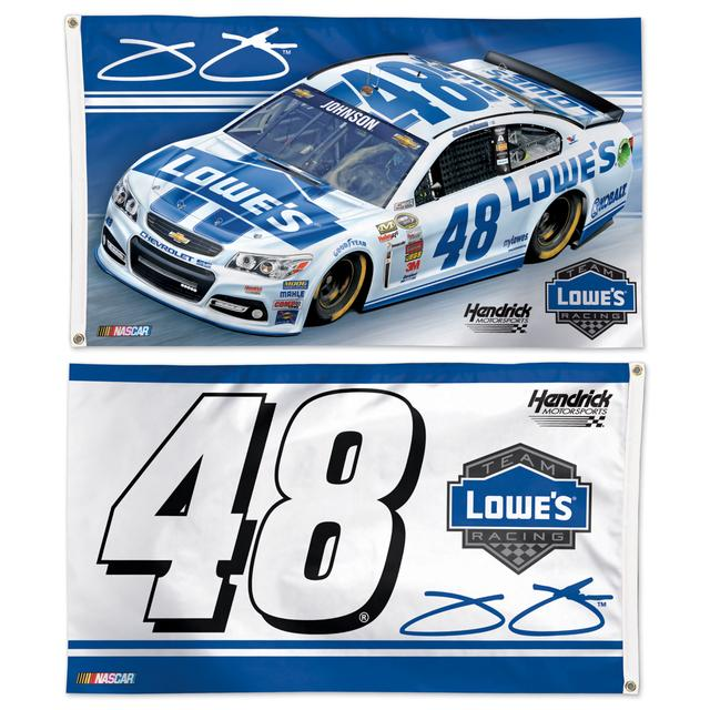 Jimmie Johnson #48 2014 2-sided 3x5 flag