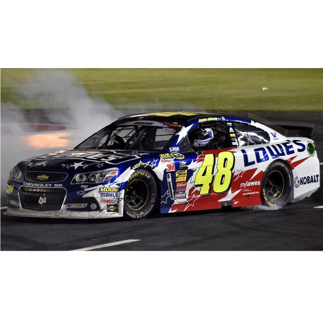 Jimmie Johnson #48 2014 Coca-Cola 600 Race Win 1:24 Scale Diecast
