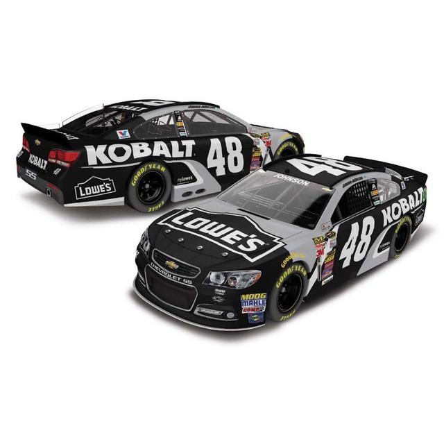 Jimmie Johnson #48 1:24 Scale 2015 Kobalt Chrome Diecast
