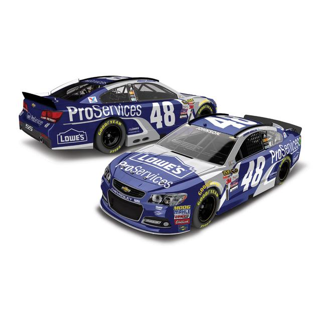 Jimmie Johnson 2015 #48 ProServices 1:24 Scale Nascar Sprint Cup Series Die-Cast